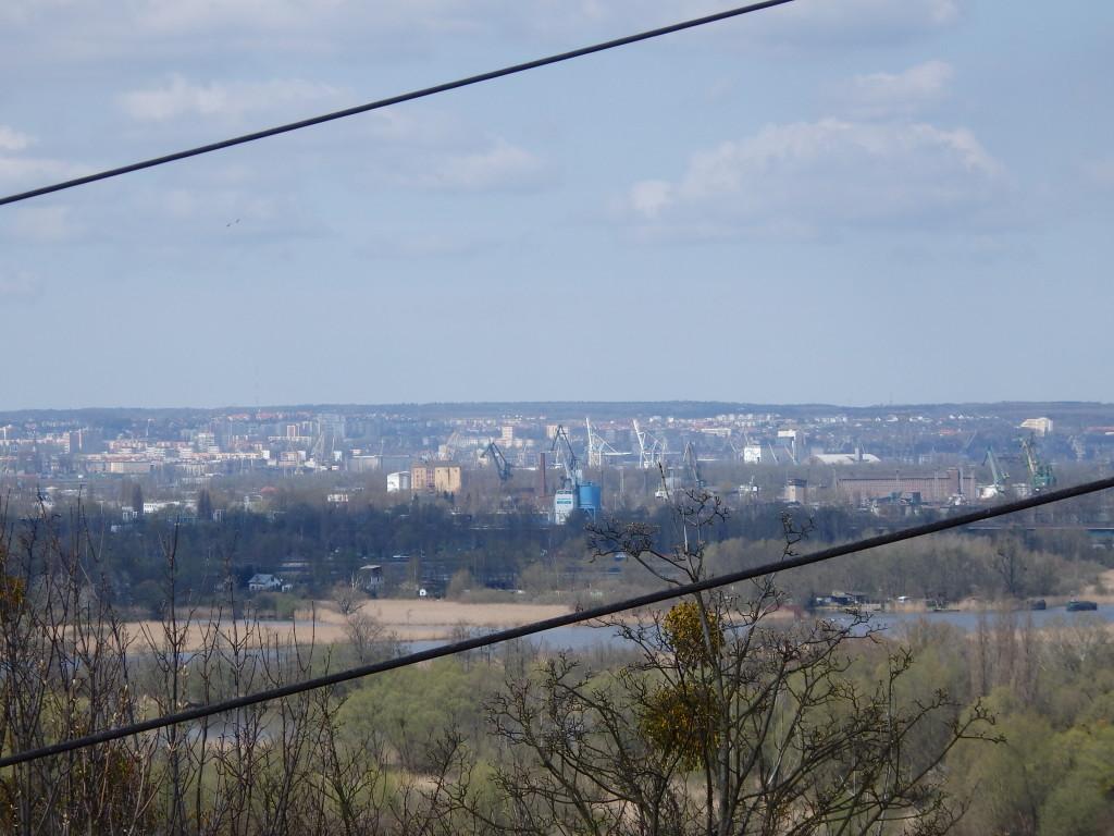 Widok na Szczecin jest niesamowity
