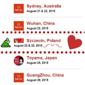Szczecin w doborowym towarzystwie - z Sydney się nawet połączyliśmy na chwilę :)